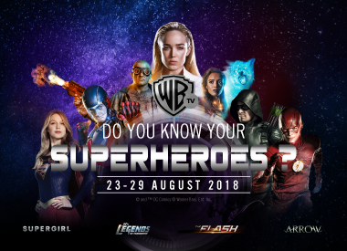 Do You Know Your Superheroes? Facebook Contest