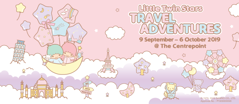 Little Twin Stars Travel Adventure