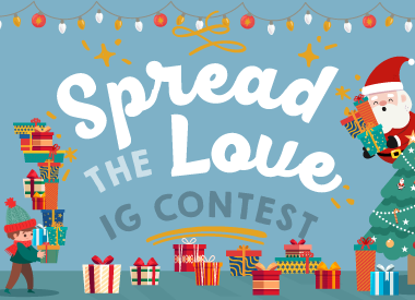 Spread The Love Instagram Contest