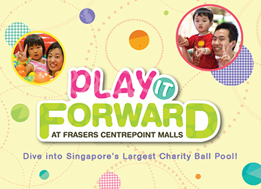 Play It Forward with a Twist! at Eastpoint Mall