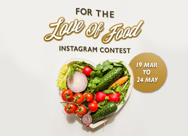 For The Love Of Food Instagram Contest